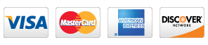 Credit Cards accepted by DentalWorks